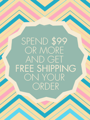 Free Shipping on $99