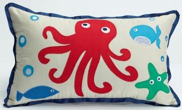 Jiggle & Giggle Sea Creatures Oblong Cushion