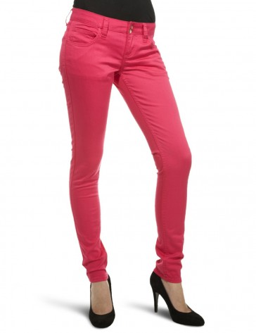 Strechable Chinos Jeans Pink by Nickelson