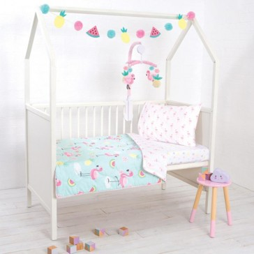 Flamingo Nursery Set by Lolli Living