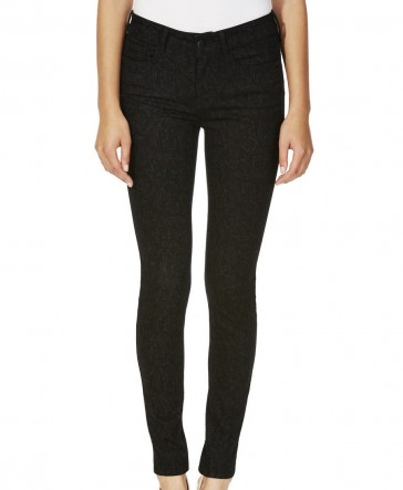 Skinny Printed Jeans by F&F