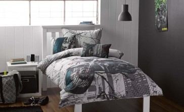 Whimsy Harley Quilt Cover Set