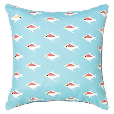 Rapee Riviera Fish Outdoor Cushion