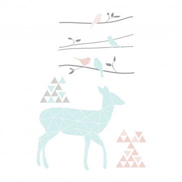 Sparrow Wall Decals by Lolli Living