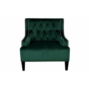 Cafe Lighting Sloane Arm Chair - Green