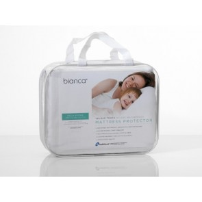 Bianca Velour Touch Deluxe Waterproof Mattress Protector