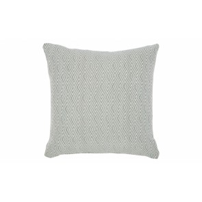Cafe Lighting Jewel Cushion - Duck Egg Blue Feather Fill 55x55
