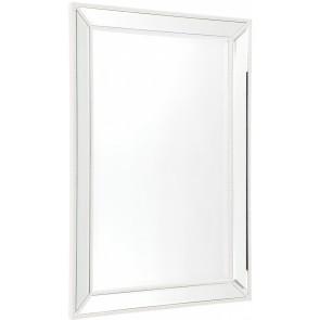 Cafe Lighting Zeta Wall Mirror - Medium White
