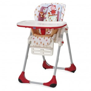 Chicco High Chair Polly Double Phase - Happy Land