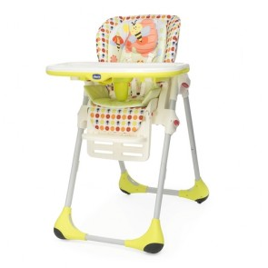 Chicco High Chair Polly Double Phase - Sunny