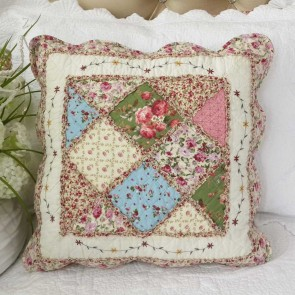 Macey & Moore Tuscany Pink Coverlet Set