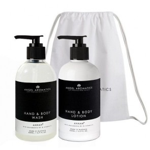 Angel Aromatics Hand and Body Wash + Lotion 2 x 500ml Annan Gift Set