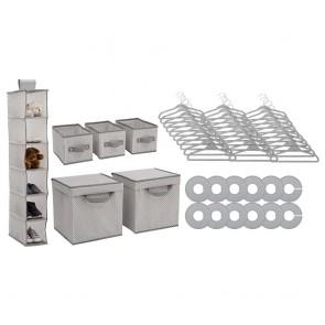 Delta Children 48 Piece Nursery Storage Set