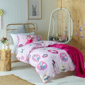 Forest Friends Queen Quilt Cover Set by Jiggle & Giggle