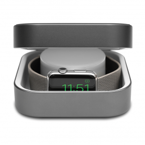 Amber Space Gray Apple Watch Case & Powerbank by Alldock