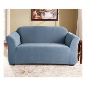 Sure Fit 2 Seater Sofa Cover in Federal Blue cs