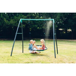 Plum Play Premium Metal Nest Swing with Mist