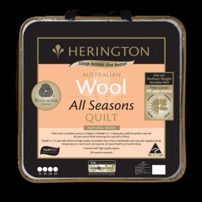 Herington Wool All Seasons Queen Quilt
