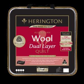 Herington Wool Dual Layer Queen Quilt