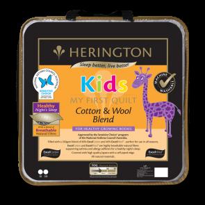 Herington Kids Cotton & Wool Blend Double Quilt
