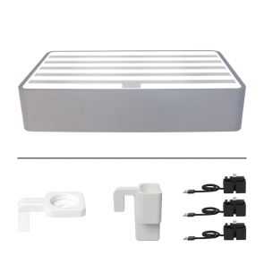 Alldock Large Alu Rose Gold & White Package
