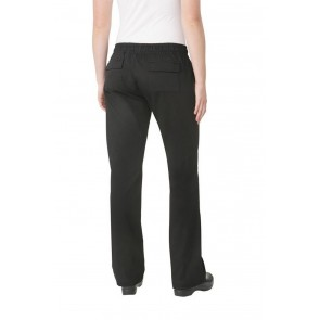 Womens Black Chef Pants by Chef Works