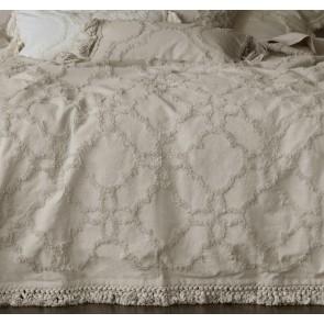 Clover Natural Bedspread Set by MM Linen