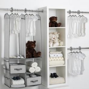 Delta Children 24 Piece Nursery Storage Set