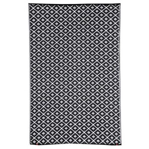 Kimberley Black Outdoor Rug by FAB Rugs