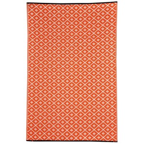 Kimberley Orange Outdoor Rug by FAB Rugs