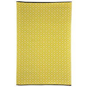 Kimberley Yellow Outdoor Rug by FAB Rugs
