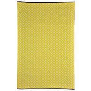 Kimberley Yellow Outdoor Rug by FAB Rugs
