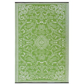 Murano Lime Outdoor Rug by FAB Rugs