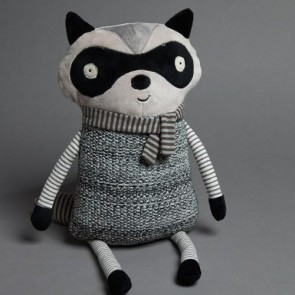 In the Woods Large Racoon Toy by Jiggle & Giggle
