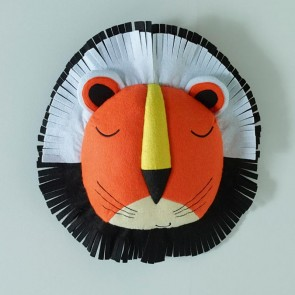 Funny Faces Lion Head 3D Wall Hanging by Jiggle & Giggle