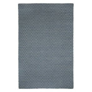 Bekal Indigo Blue Rug by Fab Rugs