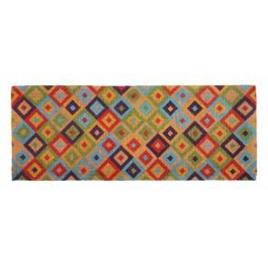 Saman Multicolour Door Mat by Fab Habitat