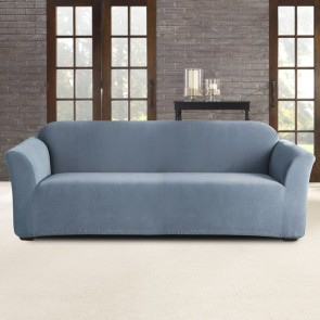 Pearson 3 Seater Federal Blue Sofa Cover by Sure Fit
