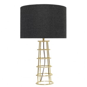 Beatrice Table Lamp Brass by Couger Lighting