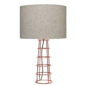 Beatrice Table Lamp Copper by Couger Lighting