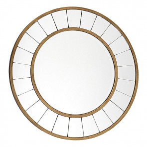 Cafe Lighting Valencia Round Wall Mirror