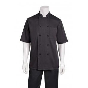 Canberra Black Basic Chef Jacket by Chef works