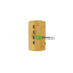 Bamboo Charging Tower by ALLDOCK