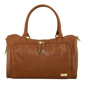 Amber Double Zip Satchel nappy bag by isoki