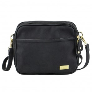 Finley Black Crossover Bag by isoki