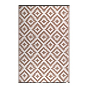 Aztec Beige and White by FAB Rugs