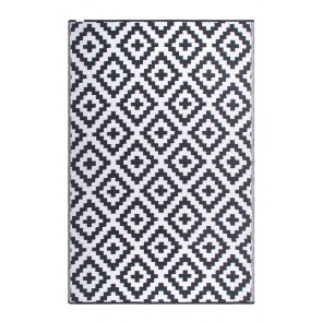 Aztec Grey and White by FAB Rugs