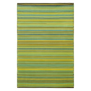 Cancun Lemon and Apple Green Rug by FAB Rugs