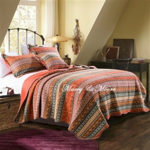 Macey & Moore Morocco Red Coverlet