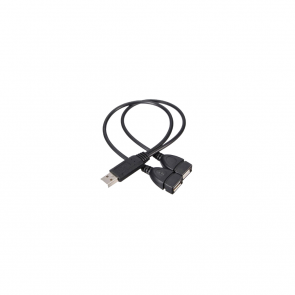 Alldock USB Cable Splitter Black